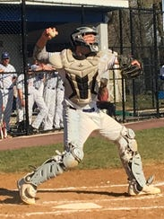 This game was Millburn catcher Peter Serruto's last, as he is a senior.