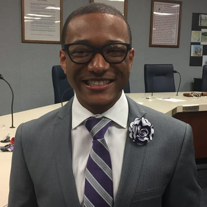 The Vineland school board named Cedric P. Holmes to