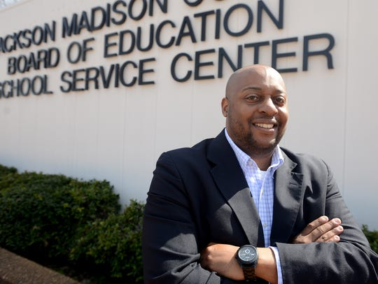 Eric Jones was voted in as the new Jackson-Madison