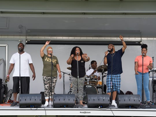 Gospel music being played at third annual anti-violence