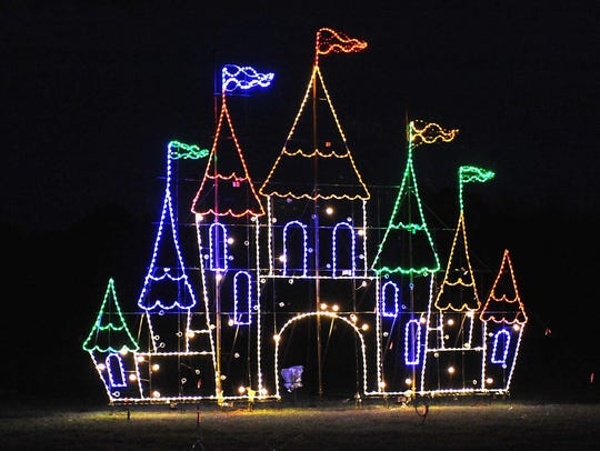 Winter WonderFest is a drive through light show at