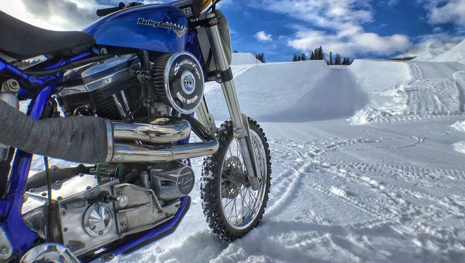 Harley-Davidson is sponsoring a motorcycle snow hill climb this month at the Winter X Games Aspen 2018.