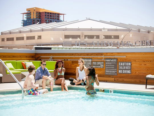 This Fourth of July, chill poolside at LUSTRE Rooftop Garden on the third floor of Kimpton's Hotel Palomar Phoenix at the All American Independence Day Party.