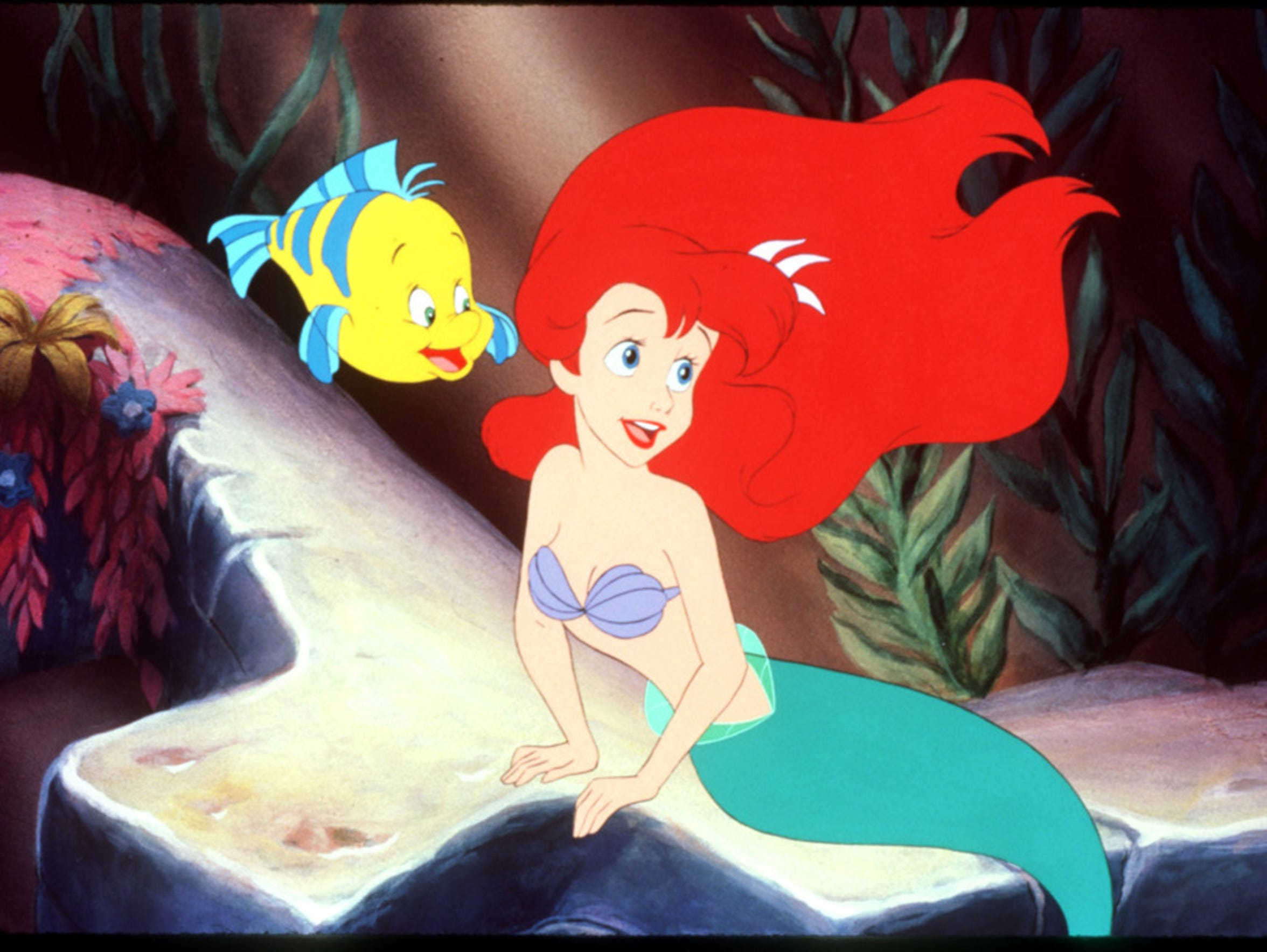 A scene from the 1989 Disney animated feature film