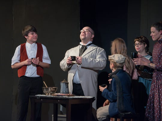 """Riverfront Playhouse's production of Charles Dickens' """"The Christmas Carol."""""""