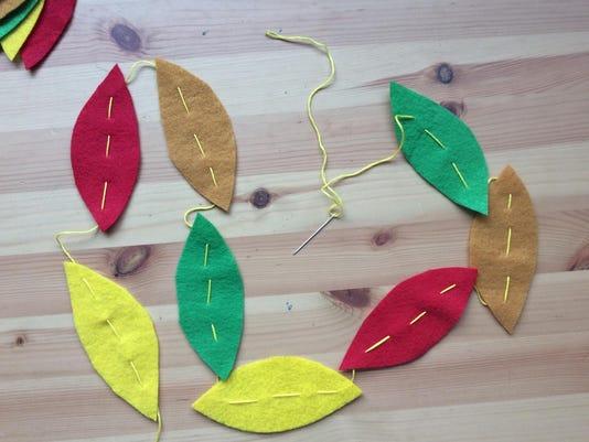 Leaf Garland 5