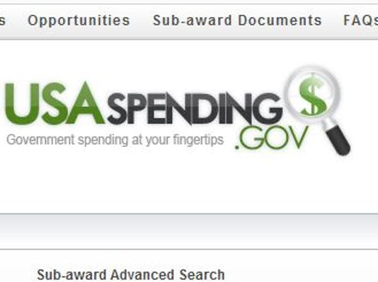 $619 billion missed from federal transparency site