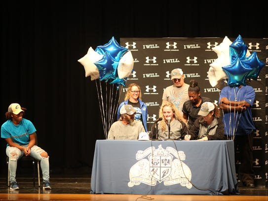 Godby softball player Madison Gorman signs with Chipola