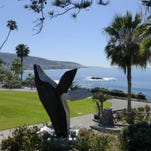 Laguna Beach is famous for its art scene, including many public art installations.