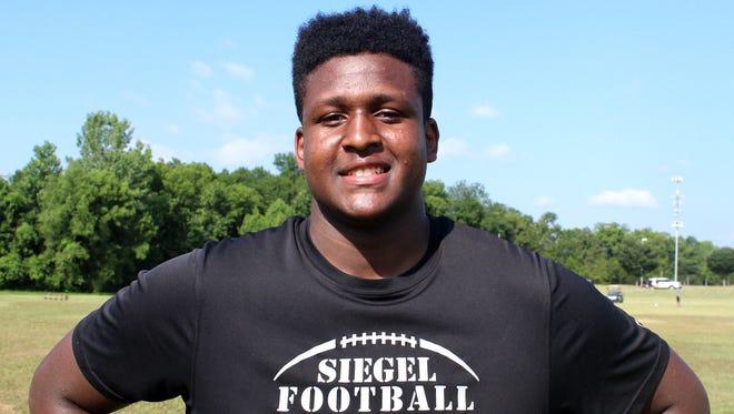 Siegel sophomore Joseph Anderson already garners multiple SEC football offers.
