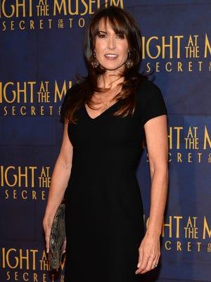 Susan Schneider, widow of Robin Williams, attends the premiere.