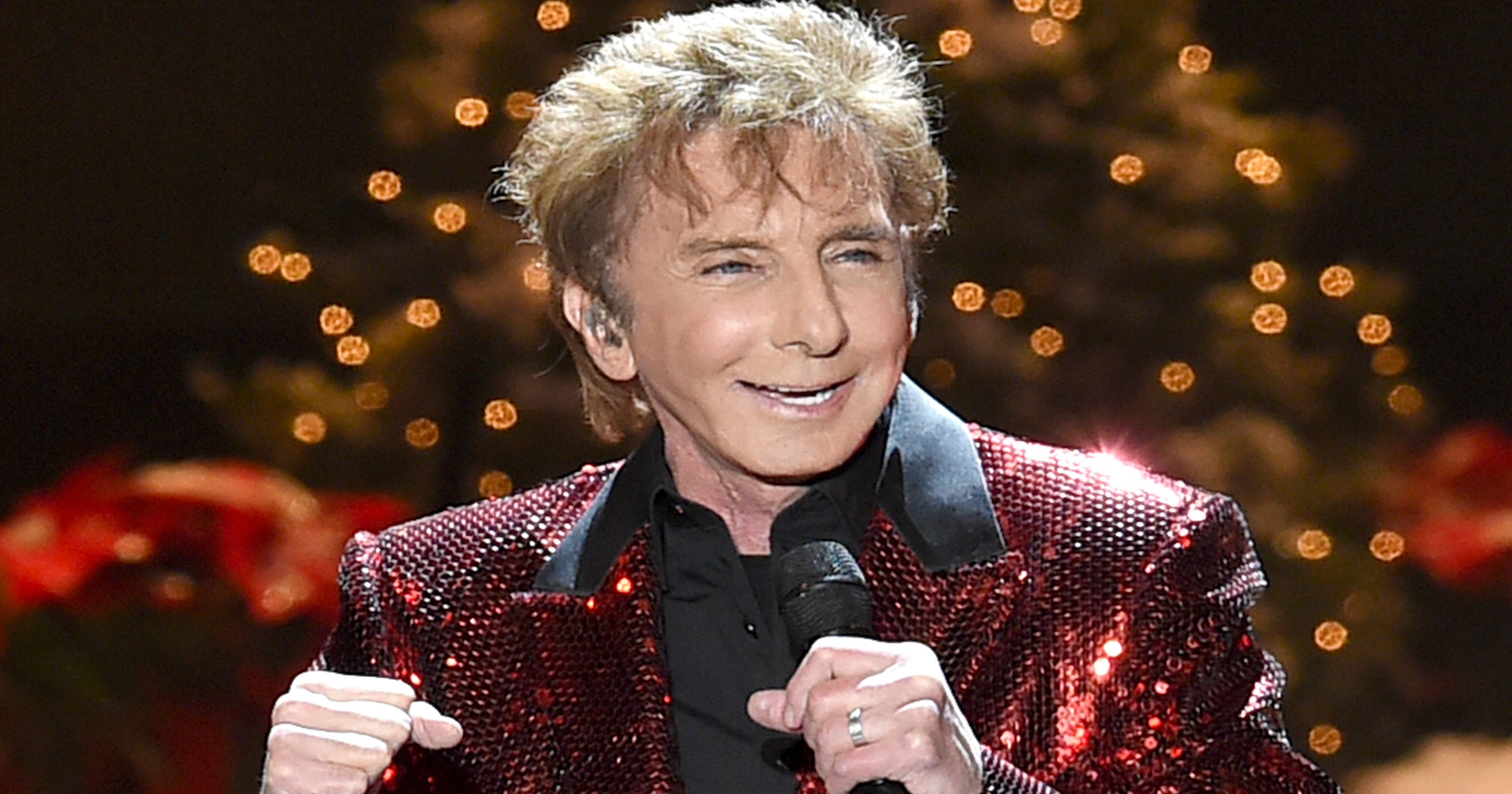 Barry Manilow is happy performing in Vegas, unsure of writing new book