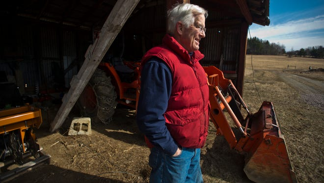 Charles Siegchrist, owner of Barber Farm in Jericho with his wife Jean, hopes to increase their operation through a GoFundMe campaign to cover the cost of a potato planter and harvester as well as seeds and fertilizer for this year, he said. Their entire harvest is donated to food banks across Vermont.