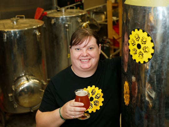 Kristen Lyons is the co-owner of Binghamton Brewing