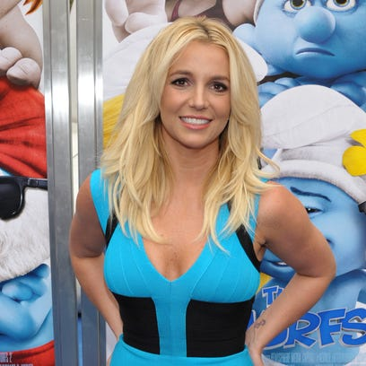 """Britney Spears arrives to the world premiere of """"The"""
