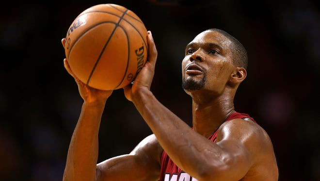 Getty Images NBA star Chris Bosh of the Miami Heat also has a passion for homebrewing and craft beer. NBA star Chris Bosh of the Miami Heat also has a passion for homebrewing and craft beer.