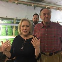 Sen. Gillibrand visits Main Street organic farm in Poughkeepsie