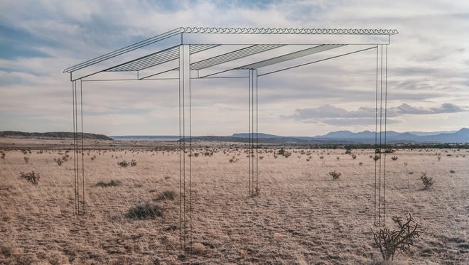 """An image from the series """"Border Landscapes"""" by Xavier Tavera."""