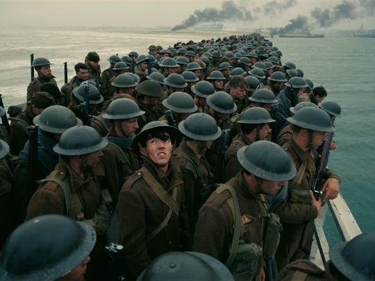 Allied soldiers brace for German attack in 'Dunkirk,' one of Christopher Nolan's shorter movies.