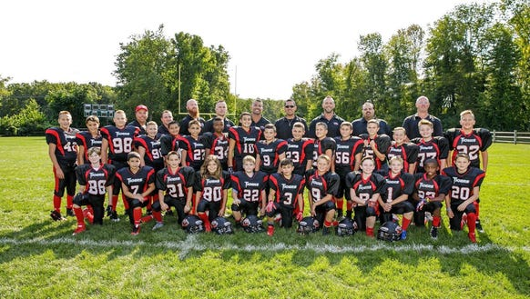 The Hanover Tigers Peewee 5/6 Grade team