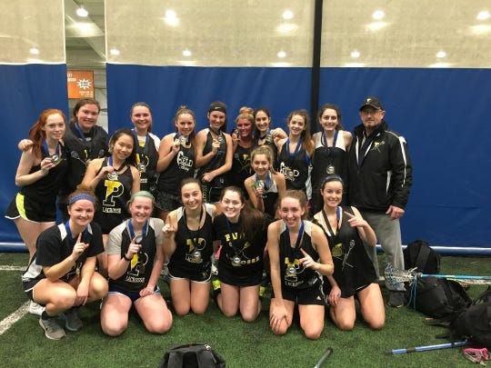 The Padua lacrosse team won the 2017 Msi Heritage Indoor Lacrosse League Championship.