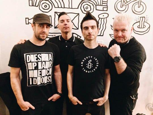 Anti-Flag performs Saturday at the Haunt.