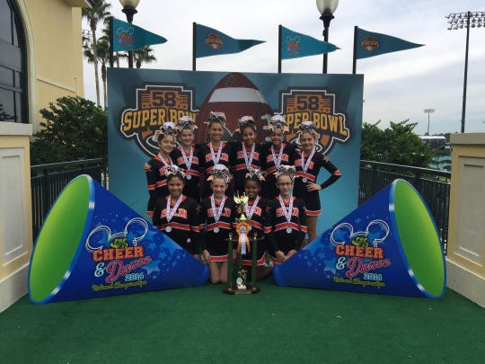 Iselin Giants Midgets were recently crowned National Champions at the Pop Warner competition in Florida. They are one of three Iselin Giants teams that won the national title.