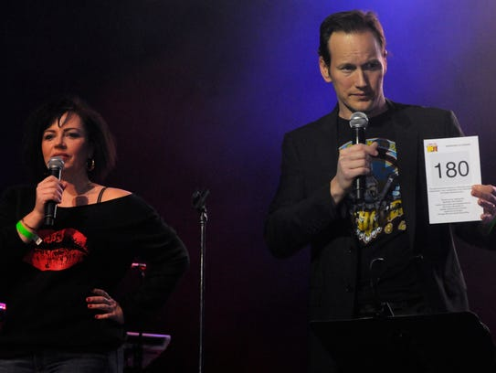 Emmy- and Tony-nominated actor Patrick Wilson, right, his wife, actress and author Dagmara Domińczyk, left, will be among the speakers at the Behind the Screen program on Jan. 28 at Montclair State University.