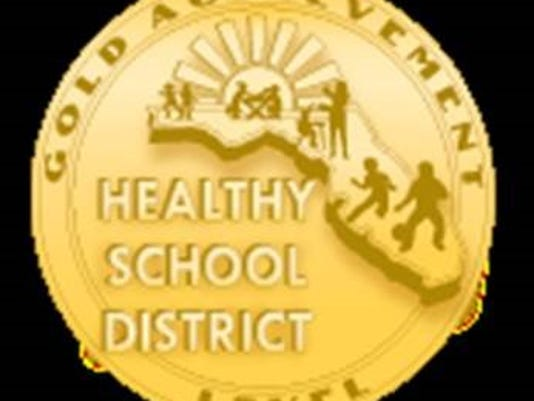 Healthy school districts named