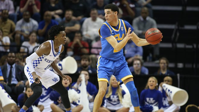 UCLA coach Steve Alford told the Los Angeles Times that Lonzo Ball's father, LaVar, was never a problem.