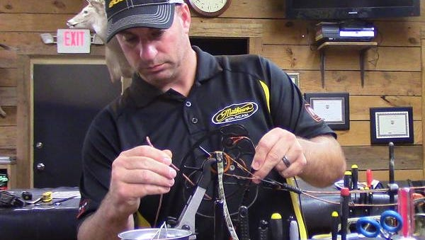 Keith Hall of B&B Archery in Pearl offers tips on getting your bow ready for archery season for deer.