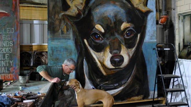 """Mark Barone's """"Tiny Tots"""" portrait."""