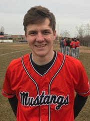 Northville senior catcher Billy Flohr had two hits and drove in three against Plymouth.