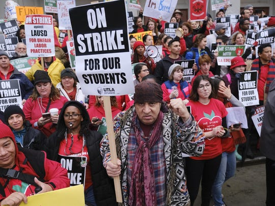 Los Angeles Teachers-Strike