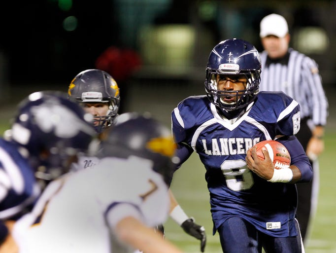 Eastridge defeated Victor 19-16 in the Class A final Friday night