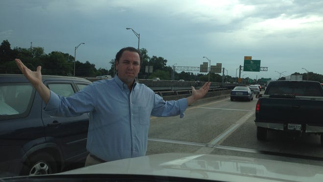 U.S. Rep. Vance McAllister missed qualifying Thursday after getting caught in Baton Rouge traffic. He remained overnight in Baton Rouge and qualified Friday.