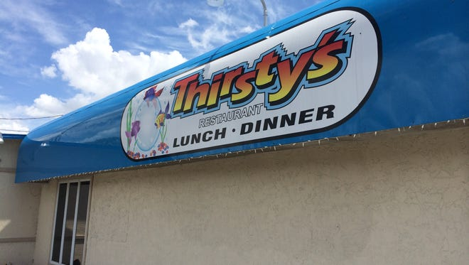 With the closing of Jimbo's last year, Thirsty's is Cape Coral's oldest restaurant at 29.