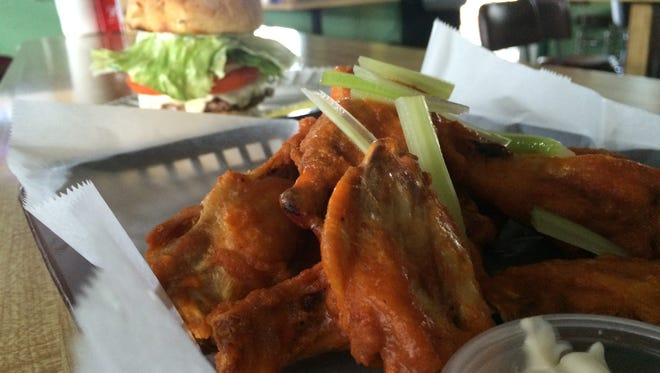 Rebel wings from Jimbob's are tossed in owner Jean Ruane's secret sauce. The sauce is named after her first Cape Coral bar, the long-closed Jealous Rebel.