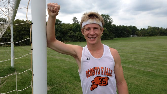 Oconto Falls senior Mike Friedman has posted three top-five finishes at the Bay Conference cross-country meet.