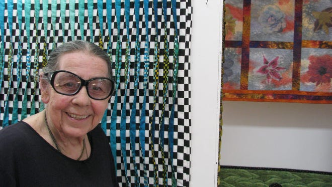 Fiber artist Mary Craik will celebrate her birthday today  at the Mary Craik Gallery.