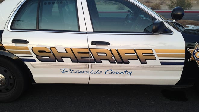 A Riverside County sheriff's patrol unit is shown in this Desert Sun photo.