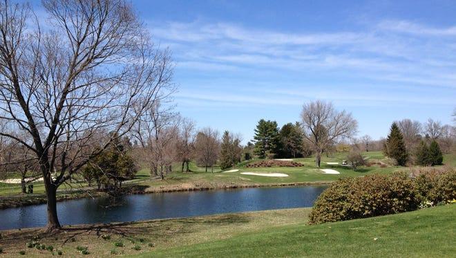 Several holes on Dutchess Golf Club's course wrap around a water hazard.