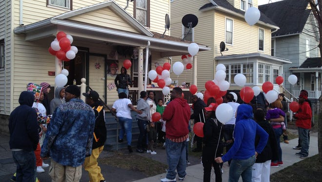A vigil was held Friday for Derrell Miller, a Rochester man who's been missing for six months.
