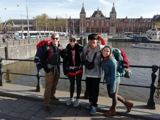 The Cajuns made it to Amsterdam using only Red Bull