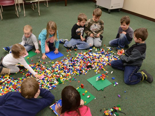 LEGO events are among the April children's activities hosted by Birchard Public Library.