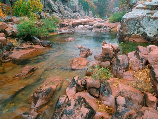 Castor River Shut-Ins - Main art