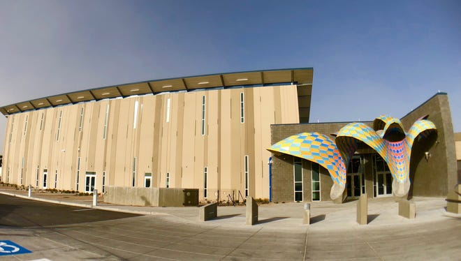 The West Side natatorium is expected to open to the public April 7.