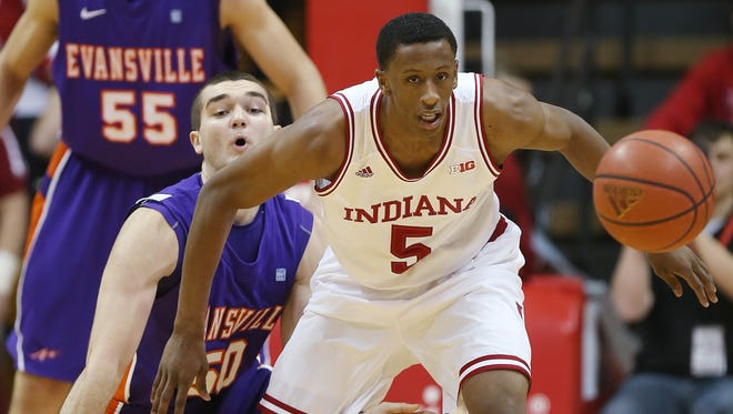 The development of Troy Williams will be key to IU's season.