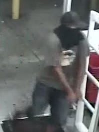 The man police believe robbed the Family Dollar at gunpoint Monday night