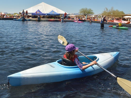 The Arizona Game and Fish Department Outdoor Expo takes